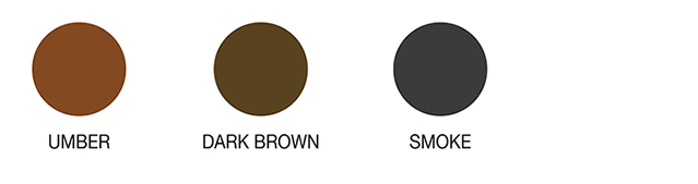 UMBER DARKBROWN SMOKE